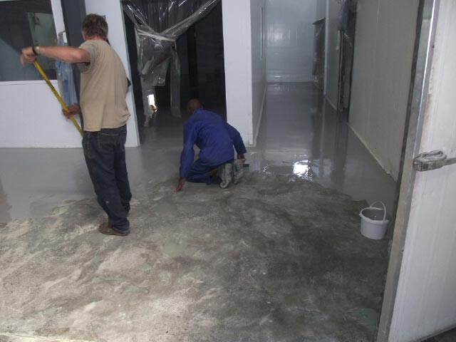 high-build-epoxy-food-manufacturer-plant-working-progress