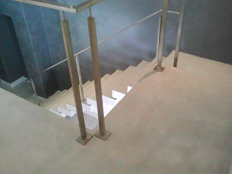 decorative-grey-concrete-overlay-stairs