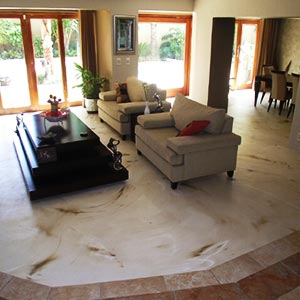 Decorative Concrete Overlay - Concept Flooring