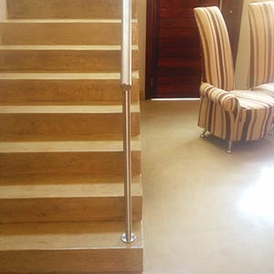 Stucco Stairs - Concept Flooring